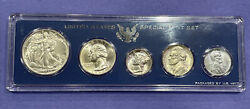 1943-p Bu To Gem U.s. Coin Set In Genuine Special Mint Set Government Case Nice