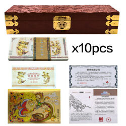 Chinese Dragon Note 1000 Dollar Paper Money With Uv 1000pcs With Wooden Box