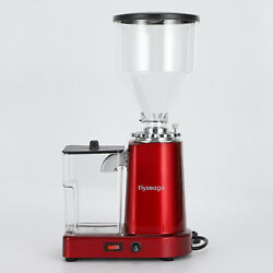 Coffee Grinder Electric Flat Burr Grinding Machine Automatic Mill 35oz Coffee
