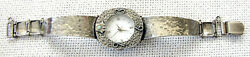 Vintage Silver Sterling 925 Lady Watch Bracelet /band With Watch, Weight 23 Gr.