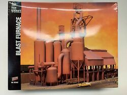 Walthers 933-3054 Blast Furnace Kit Ho Gauge - New In Box - Complete