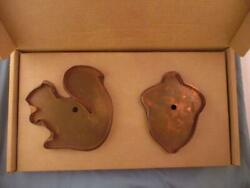 Rare Martha By Mail Giant Cooper Cookie Cutters Sugar Squirrel Mighty Acorn