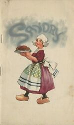 Early 1900's Savory Prize Recipe Book For The Savory Roaster Republic Metalware
