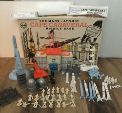 Marx 4521 Atomic Cape Canaveral Missile Base Playset
