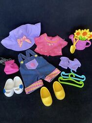 Dora Dress Up Doll Outfit Clothes Garden Adventure Watering Can 15 Pcs