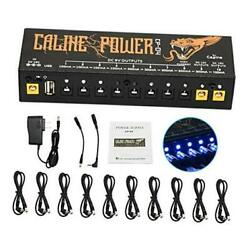 Guitar Pedal Power Supply 10 Isolated Dc Output For 10 Isolated Output
