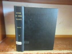Old History Of Monastic Religious Military Orders Book 1718 Nuns Monks Plates ++