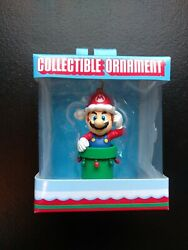 Super Mario Christmas Ornament 2008 Out Of Print Rare Retired New