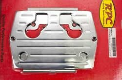 Racing Power Co Chrome Optima Blue/red/yellow Top Battery Tray P/n R6323c