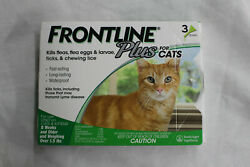 Frontline Plus For Cats And Kittens Up To 8-week And Older - 3 Doses