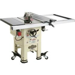 Shop Fox W1837 10 2 Hp Open Stand Hybrid Table Saw