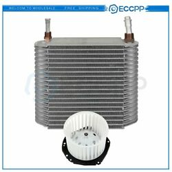 Hvac Blower Motor And Evaporator Core Kit For Gmc K1500 Suburban Front Replacement