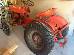 Power King Economy 14 Hp Tractor 1972