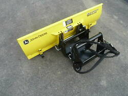 John Deere X400 X500 X700 Series Quick Hitch And 54 Snow Plow Blade Barely Used