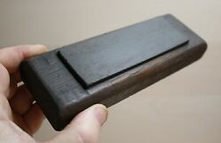 Vintage Sharpening Stone See Microscope Pictures And Description Below