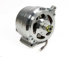 March Performance 140 Amp Ford 1-wire Clear Powder Coat Alternator P/n 9665