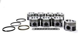 Mahle Pistons Duramax 4.075 In Forged Powerpak Piston And Ring Kit P/n 930036075