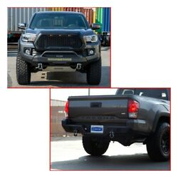Set Of 2 Bumper Face Bars For Toyota Tacoma 2016-2021 Pair