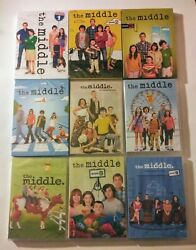 New The Middle. The Complete Tv Series 1-9. 27 Disc Dvd Bundle. Ships Free