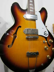 Prompt Decision Epiphone Japan Casino Rare Made In Japan With Fret Edge Bind