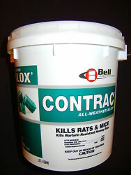 Contrac Blox Mouse Bait 18 Lb Pail Bell Labs Not Sold In Ca