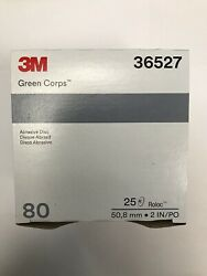 3m Green Corps Roloc Grinding Discs 2 80 Grit 3m 36527 Replacement For 3m 01396