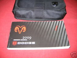 2009 Dodge Caliber Owners Manual Owner's Set W/ Case