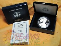 2010 American Eagle 1 Ounce .999 Fine Silver Proof One Dollar Coin