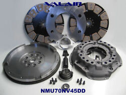 1989-2003 Dodge Nmu70nv45ddb Valair Dual Disc Steel Insert Ceramic Buttons 800hp