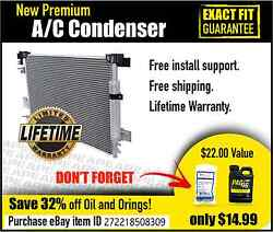 NEW PREMIUM AC CONDENSER   FITS: 2005-2012 FORD ESCAPE HYBRID