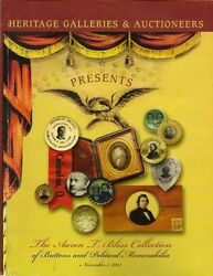 Heritage Buttons Presidents Women Rights Political Memorabilia Bliss Coll Cat 03