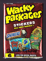 2004 Topps WACKY PACKAGES ANS1 All New Series 1 Set with Wrapper