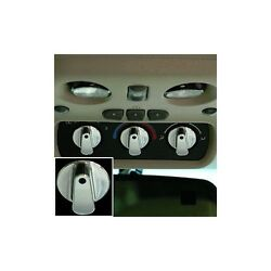 99 00 01 02 03 04 Chevy Gmc Truck Billet Rear Ac Knobs Set 3pc Polished