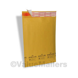 5000 6x10 0 Made In Usa Kraft Bubble Mailers Envelopes Bag Cd Dvd Free Ship