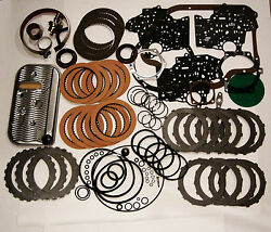 Th400 Rebuild Kit W/ Band Filter Frictions Steels 1967-98 Turbo 400 Transmission