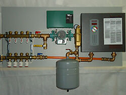 Radiant Heat Panel System (4-zone) with Electric Heater