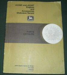 John Deere 4239d 4239t Engine And Accessories Parts Catalog Book Manual Pc-3153