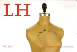 Lh Costume Jewelry Couture Blass Dior Pucci Hermes Vass Catalog 171 2011