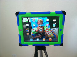 Ipad Tripod Mount / Bracket - Works With Or Without Case Otterbox Compatible