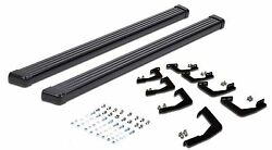 07-18 Toyota Tundra Double Cab Crew Cab Black Running Side Step Boards Nerf Bar