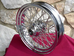 16 X 3.5 60 Spoke Dna Front Wheel 2000-06 For Harley Heritage Fat Boy Deluxe