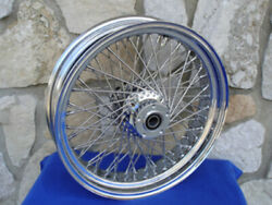18 X 4.25 60 Spoke Dna Front Wheel 2000-06 For Harley Heritage Fat Boy Deluxe