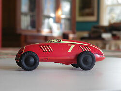 tin racing car auto union wind up western
