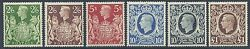 1939-48 High Value Arms Set Unmounted Mint
