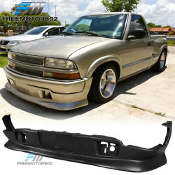 Fit 98-04 Chevy S10 Gmc Extreme Style Pu Front Bumper Lip Spoiler Body Kit