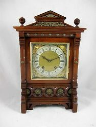 Antique German Lenzkirch Mantle Clock C1880and039s