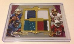 Andrew Luck Robert Griffin Rg3 Michael Floyd 2012 Topps Supreme Quad Jersey 1/5