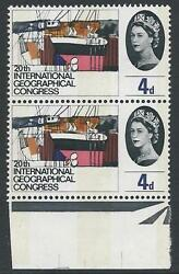 1964 Geographical 4d Phos - Listed Flaw - Scarred Neck - Mnh