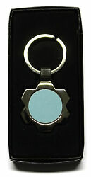 Flower Shape Metal Keyring With Sublimation Print Insert For Heat Press A27