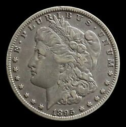 1895 O Morgan Silver 1 Dollar Semi Key Date Coin - Extremely Fine Condition